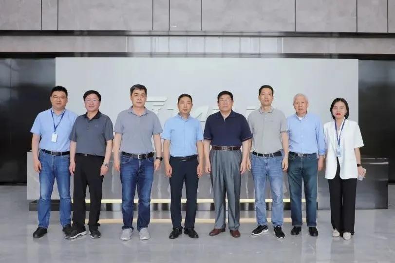 中国制药装备行业协会领导赴泰林生物调研